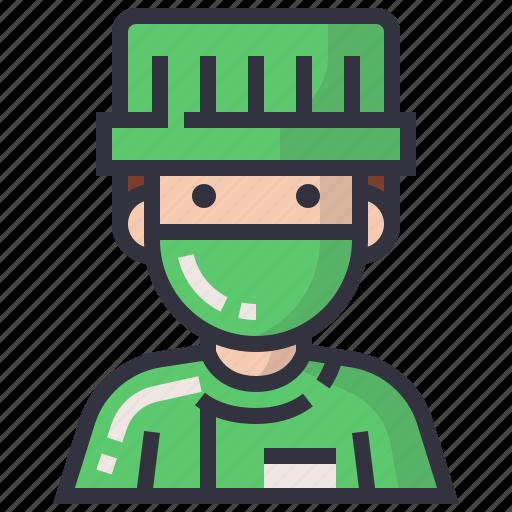 avatars, character, man, people, profession, profile, user icon