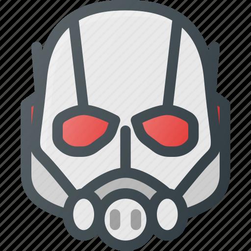 Ant, avatar, head, hero, man, marvel, people icon - Download on Iconfinder
