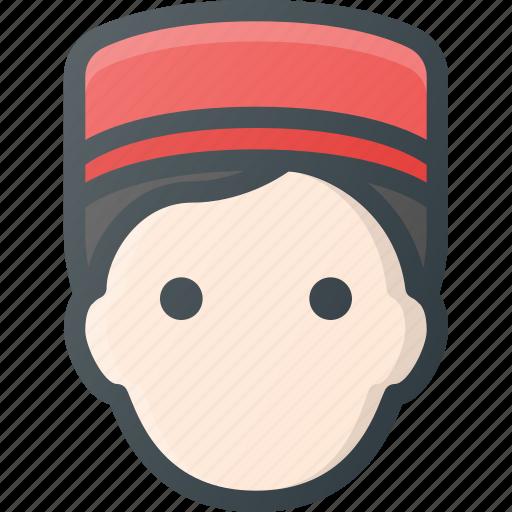 Avatar, bell, bellboy, boy, head, hotel, people icon - Download on Iconfinder