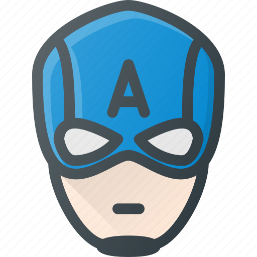 America, avatar, captain, head, hero, marvel, people icon - Download on Iconfinder