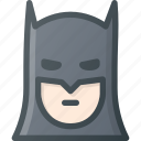 avatar, bat, batman, comic, head, man, people icon
