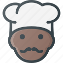 avatar, cook, head, people, restaurant, shefe icon