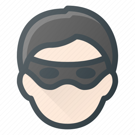 Avatar, criminal, head, people, robber icon - Download on Iconfinder