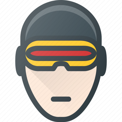 Avatar, cyclops, head, men, people, x icon - Download on Iconfinder