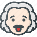 albert, avatar, einstein, head, people, scientist icon
