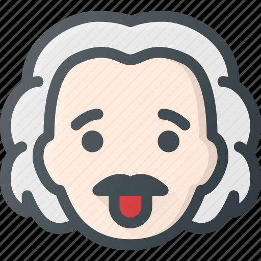 Head, people, albert, scientist, avatar, einstein icon