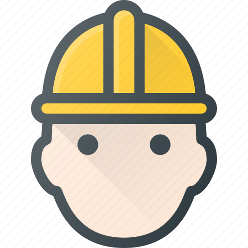Avatar, head, helmet, man, people, protect, worker icon - Download on Iconfinder