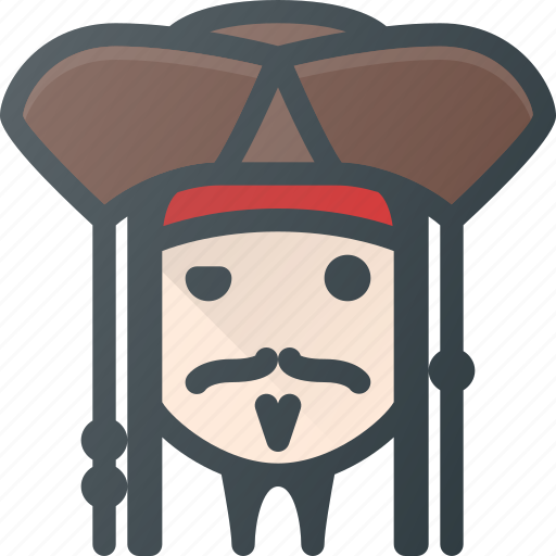 Avatar, captain, head, jack, people, pirate, sparrow icon - Download on Iconfinder