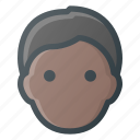 avatar, head, male, man, people, person icon