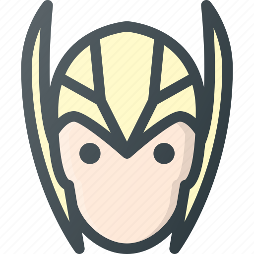 Asgardian, avatar, head, marvel, people, thor icon - Download on Iconfinder