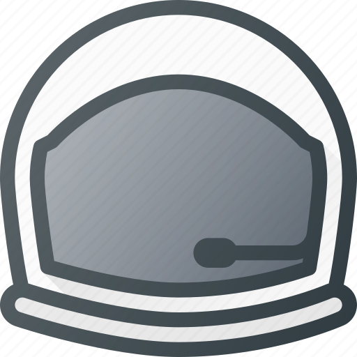 astronaut, avatar, head, helmet, people, space icon