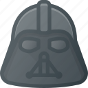 avatar, darth, head, people, starwars, vader icon
