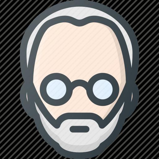 Steve, head, jobs, avatar, people icon