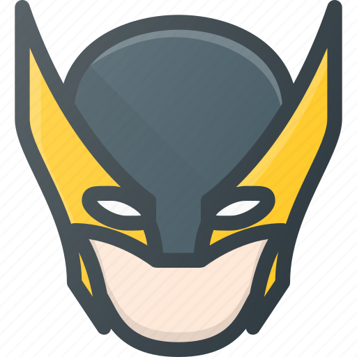 avatar head logan marvel people wolverine xman icon rh iconfinder com Wolverine Logo Wallpaper Deadpool Logo