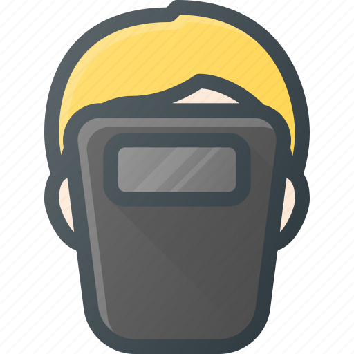 Avatar, head, mask, people, protect, welder, worker icon - Download on Iconfinder
