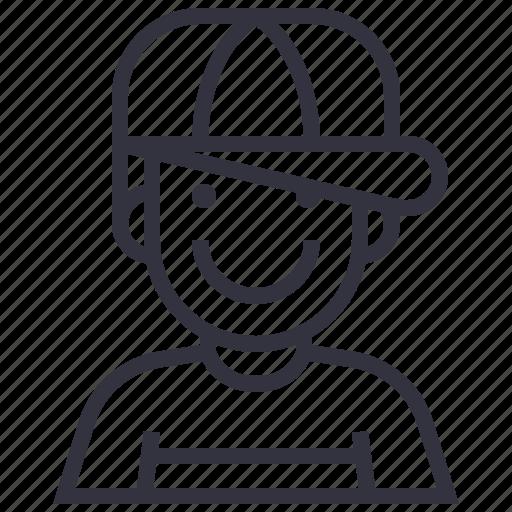 avatar, boy, character, man, people, profession, profile icon