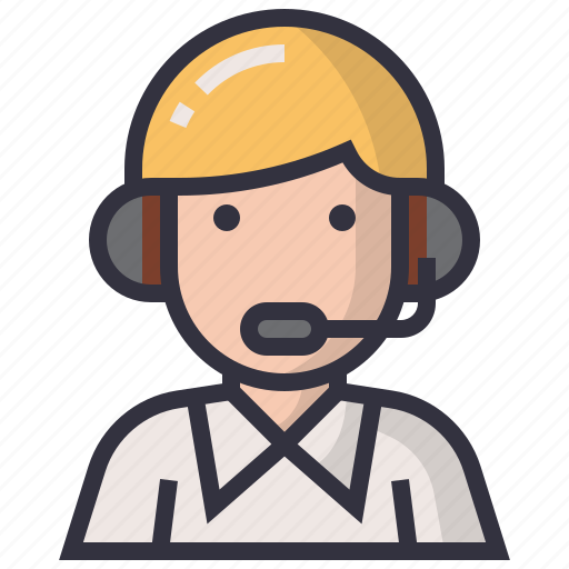 avatars, character, man, people, profession, reporter, user icon