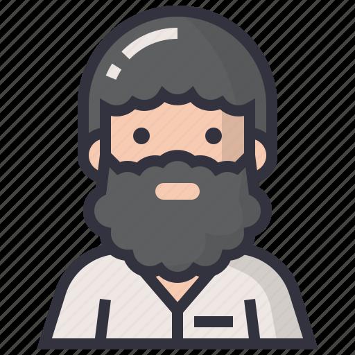 avatars, character, male, man, profession, professor, teacher icon