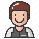 avatars, character, male, man, people, profession, user icon