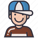 avatars, boy, character, man, people, profession, profile icon