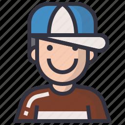 avatars, boy, character, man, people, profession, profile icon