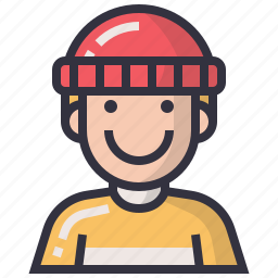 avatars, character, male, man, people, profession, profile icon