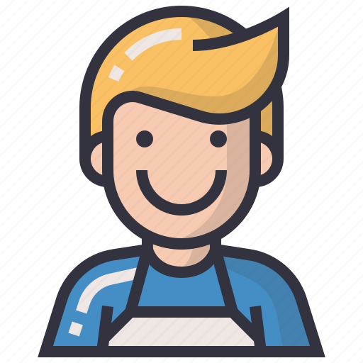 avatars, character, man, merchant, person, profession, user icon