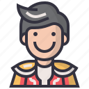 avatars, character, man, matador, people, profession, user icon