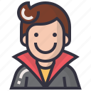 avatars, character, hero, man, profession, profile, user icon