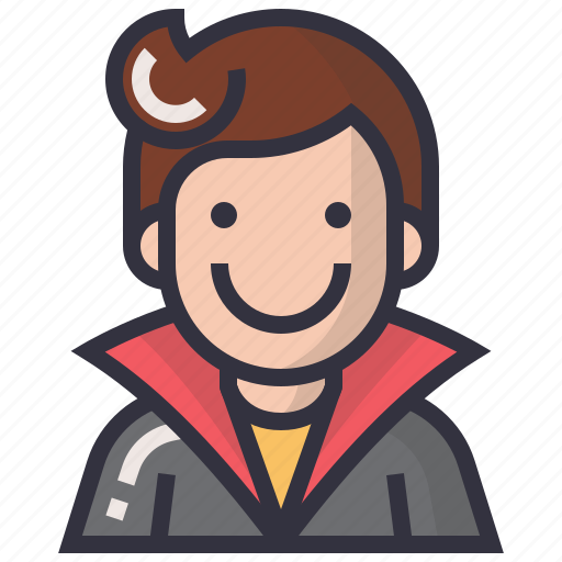 avatars, character, hero, man, profession, profile, user icon