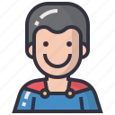 avatars, character, male, man, people, profession, superhero icon