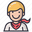 avatars, character, hero, male, man, profession, user icon