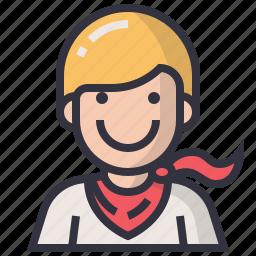 avatars, character, hero, male, man, profession, user icon