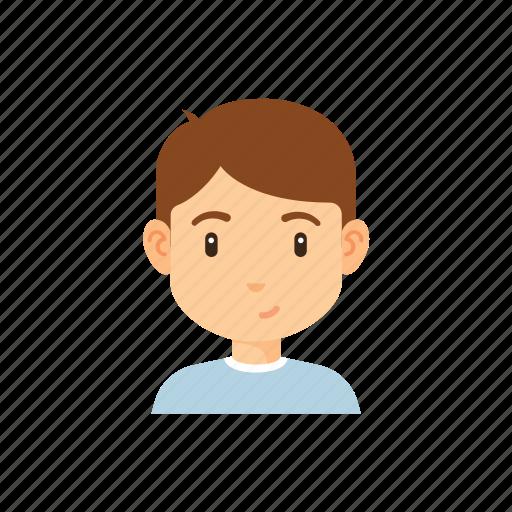 avatar, boy, man, people, tshirt icon