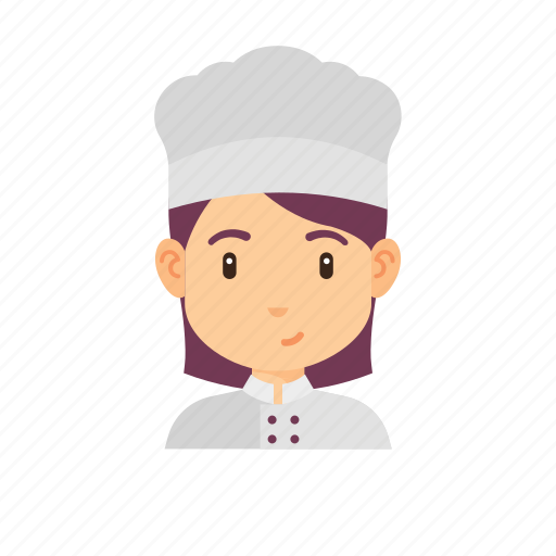 avatar, chef, occupation, people, woman icon