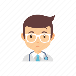 doctor, hospital, man, occupation, people icon