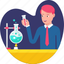 business, chemistry, development, experiment, lab, research, solution icon