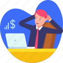 grow, incomes, increase, money, profit, relax, rest icon