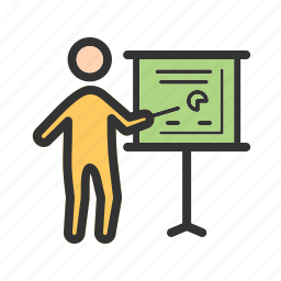 business, businessman, chart, organizational, performance, project, structure icon