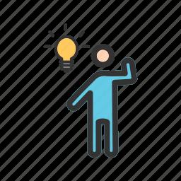 businessman, communication, happy, idea, job, partnership, success icon