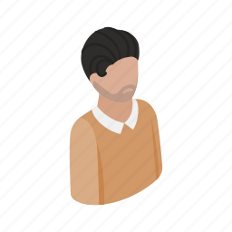 adult, casual, guy, isometric, male, man, men icon