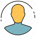 profile, social media, man, avatar, people