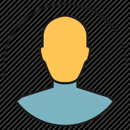 avatar, man, people, profile, social media icon
