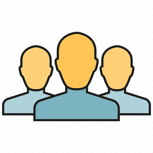 community, group, leader, people, social media, team icon