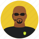 avatar, body guard, bouncer, protection, sunglasses icon