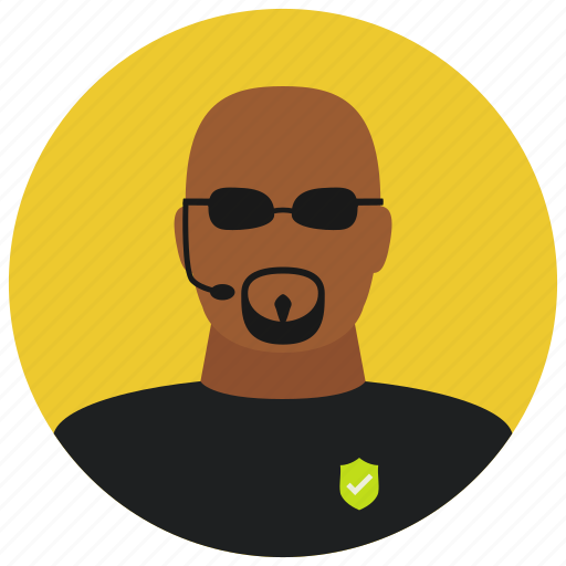 avatar, body guard, bouncer, protection, sunglasses icon