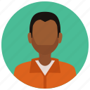 avatar, convict, crime, criminal, man, prisoner, protection icon