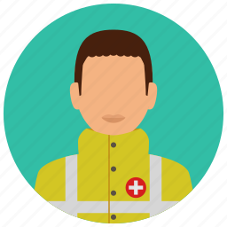 education, emergency, health, healthcare, man, medical, science icon
