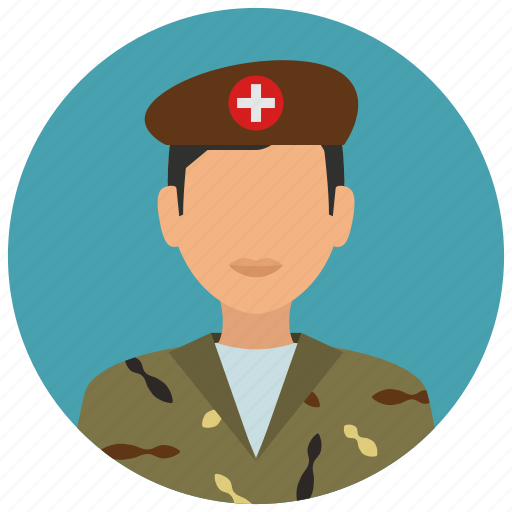 doctor, education, man, medical, medicine, military, science icon