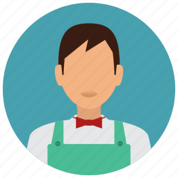 avatar, cashier, grochery, man, services, store icon